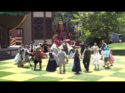 Pennsylvania Renaissance Faire Peasant Dance