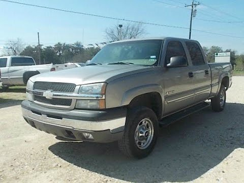 2003 chevrolet silverado 1500hd ls review youtube. Black Bedroom Furniture Sets. Home Design Ideas