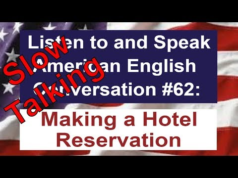 Learn American English - Listen to and Speak American English Conversation #62