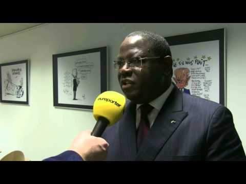 Press Club Brussels - Gabon ministers point way towards country's development