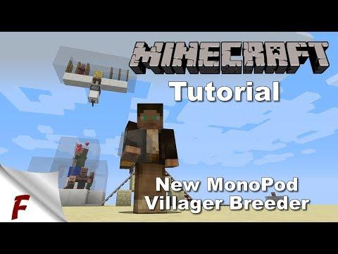 ✅ Minecraft Infinite Villager Breeder Tutorial 1.12, 1.12.1 & 1.12.2 EASY To Build