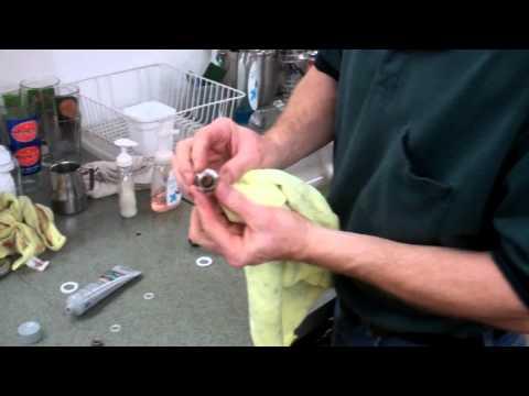 Steam Wand Tip + Nut Service Video