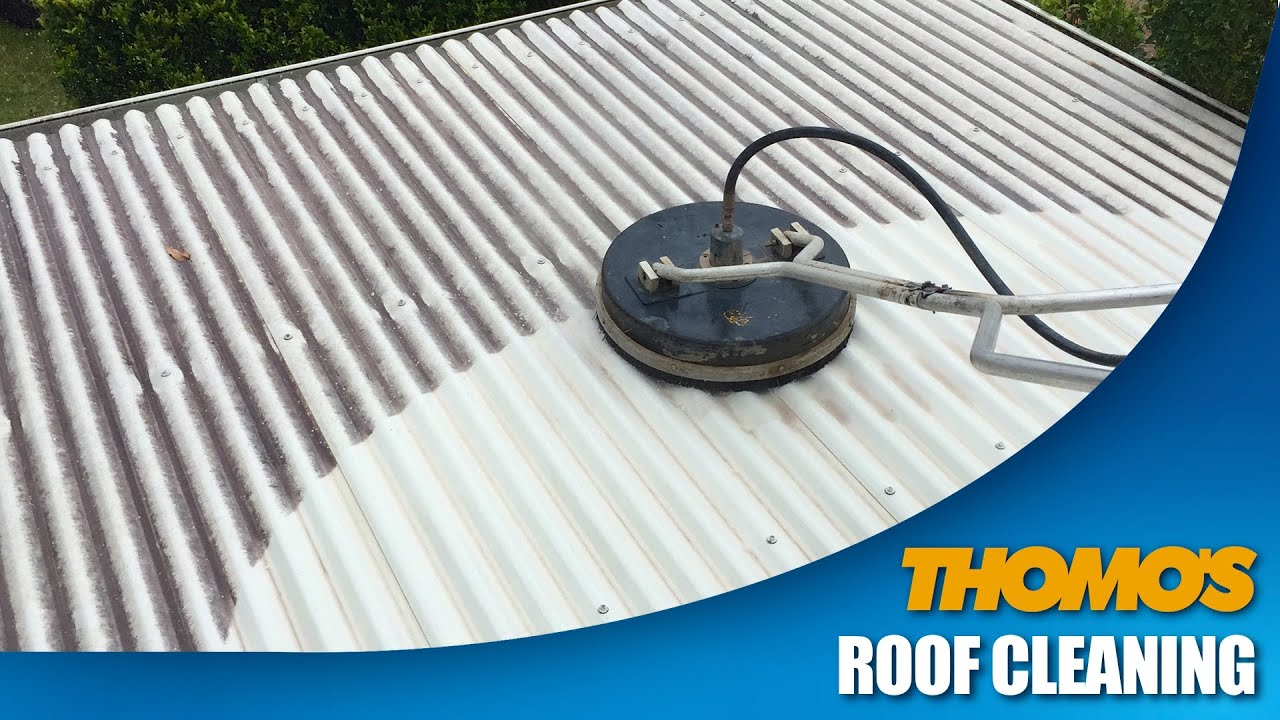 Colorbond Roof Cleaning By Thomou0027s High Pressure Cleaning