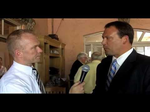 Xpress interviews Congressman Heath Shuler at CIBO lunch