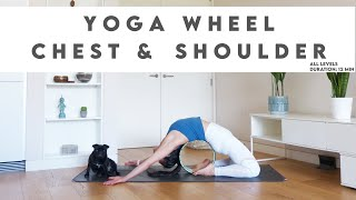 How To Use Yoga Wheel for Chest and Shoulder Opening | Lydia Lim Yoga