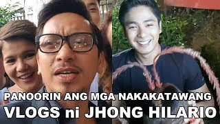 """Panoorin ang mga nakakatawang """"VLOG"""" ni JHONG HILARIO"""