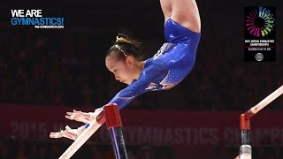 FAN Yilin (CHN) - 2015 Artistic Worlds - Qualifications Uneven Bars