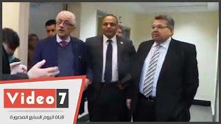 بالفيديو..وزير التعليم العالى يفتتح مركز خدمات الحوسبة بأكاديمية البحث العلمى