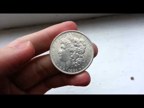 1883 Silver Dollar Bullion Coin HD
