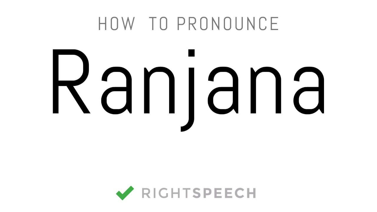 ranjana name