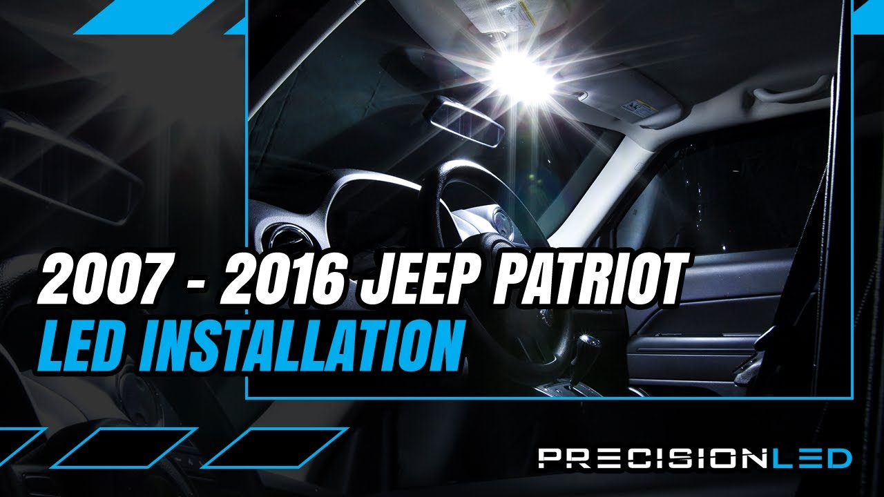 Jeep Patriot LED Interior How To Install - 1st Gen 2007-2016
