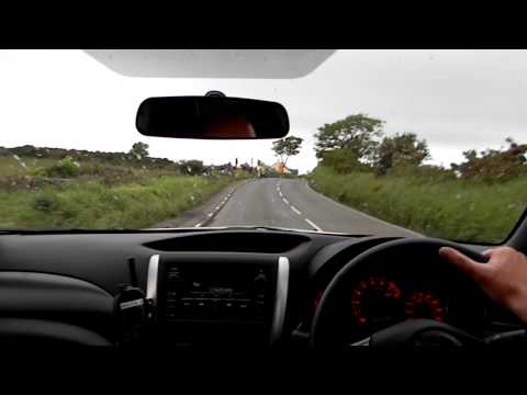 Closed circuit lap of the Isle of Man TT Course