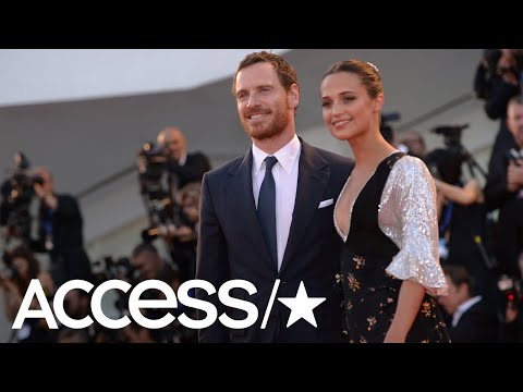 Alicia Vikander Says She Barely Spoke To Husband Michael Fassbender When They Met | Access