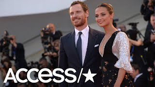 Alicia Vikander Says She Barely Spoke To Husband Michael Fassbender When They Met  Access