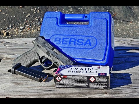 Bersa BP9CC Out of the Box to Match REVIEW!