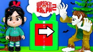 PJ Masks and Vampirina Spooky Lunchbox Surprise with Wreck it Ralph Venellope