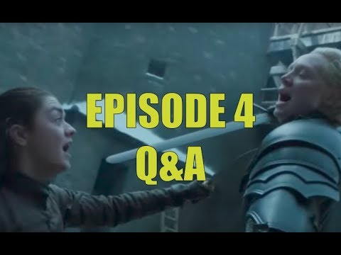 Game of Thrones Season 7 Episode 4 Serious Q&A - Spoils of War