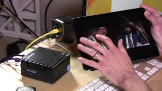Gigabyte GB-BXBT-2807 BRIX Ultra Compact PC Kit - Intel Celeron