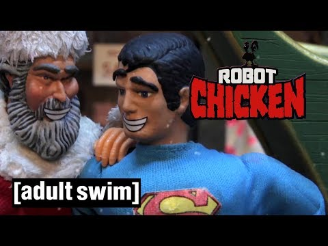 3 of Santa's Greatest Opponents | Robot Chicken | Adult Swim
