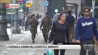 TG VICENZA (30/09/2017) - A VICENZA IL GIORNO DELL'ESERCITO E' ARRIVATO