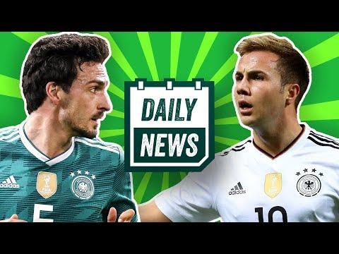 WM 2018: Deutscher Nationalkader ohne Wagner und Götze! BVB: Wolf zu Dortmund? Daily News