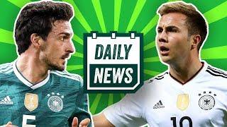 WM 2018: Deutschland ohne Wagner und Götze! BVB: Wolf zu Dortmund? Daily News