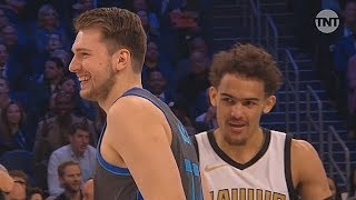 2019 NBA Skills Challenge Full Game Highlights! Luka Doncic vs Trae Young, Jayson Tatum, & Kuzma