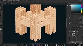 Cube Castle Timelapse
