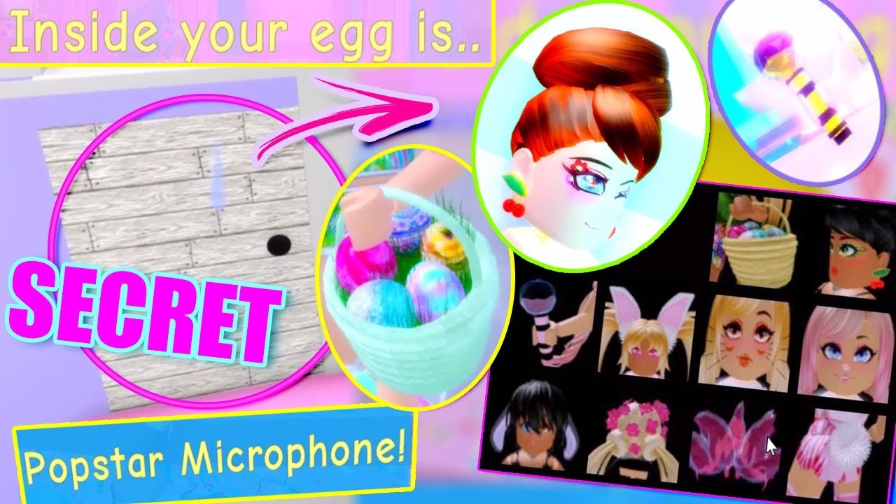 ALL THE NEW ACCESSORIES & SECRET EGG LOCATIONS! Royale High EGG HUNT Update