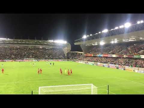 Sweet Caroline @ Windsor Park Northern Ireland vs Czech Republic 4/9/17