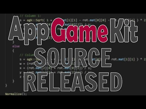 AppGameKit Engine Source Released --  (*But not open sourced!!!)