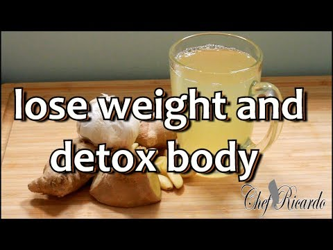 how-to-lose-weight-and-detox-your-body-ginger-garlic-lemon-|-recipes-by-chef-ricardo