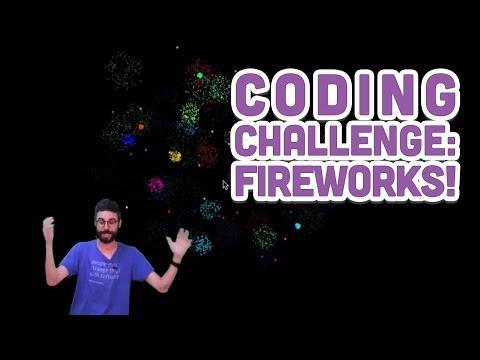 Coding Challenge #27: Fireworks!