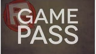 ROBLOX How to Make a Gamepass (NO BC)
