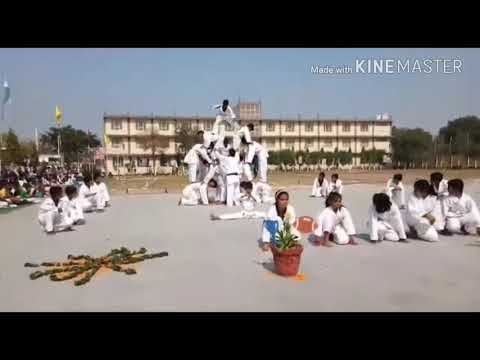 Karate Demo    Coach Sanju    valley Se. Sec. School    Young India marital-art Academy  