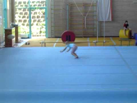 Akrobatik Einzel Übung - YouTube