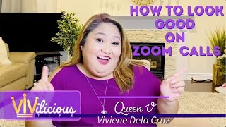 Download How to Look Good on Zoom Calls - VIVILICIOUS TIPS
