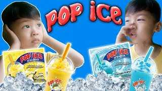 Saif Bikin POP ICE | Menurut Saif Enak Yang Rasa Apa?