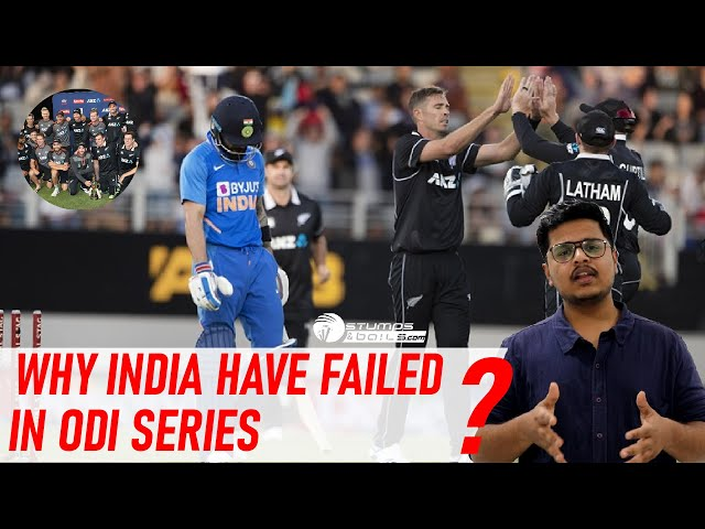 Why India Failed In ODI Series | What Went Wrong For Team India? | India Struggle Continue In ODI