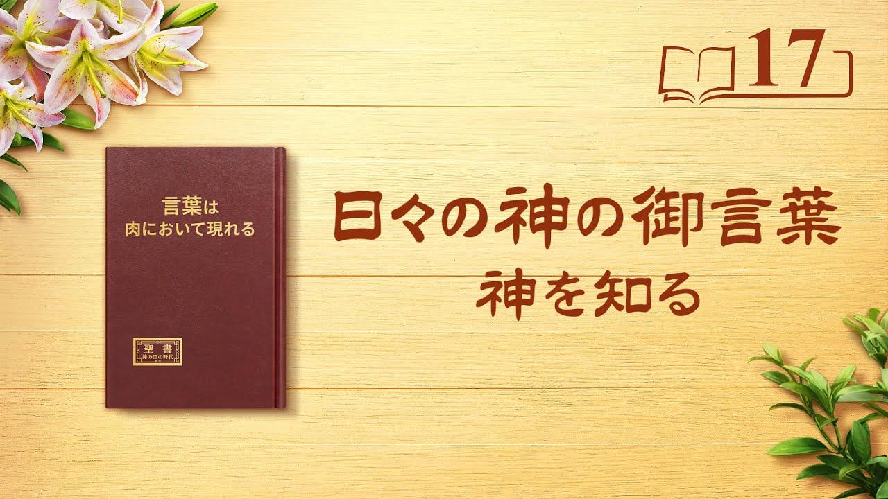 日々の神の御言葉「神の性質と神の働きが達成する成果をいかにして知るか」抜粋17