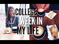 college week in my life: classes, studying, coffee shops! | emilyOandbows