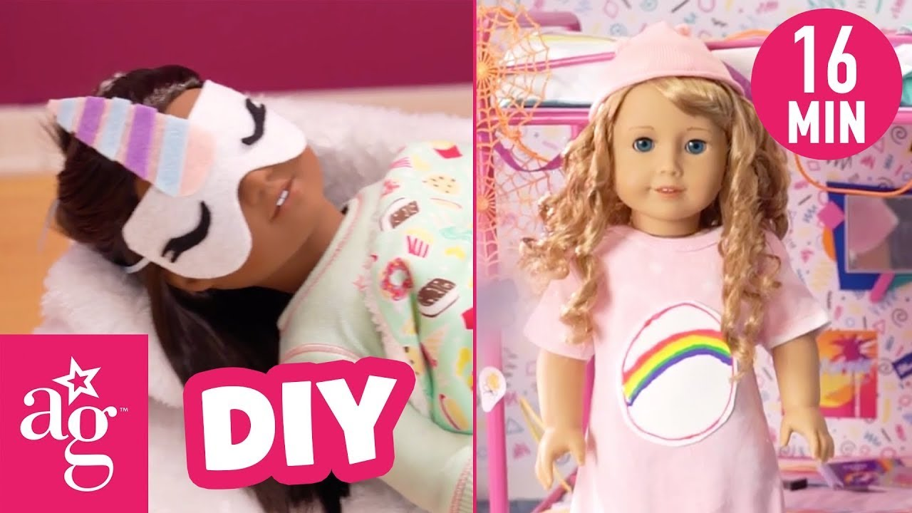 DIY Sleepover & 2021 Accessories Compilation | Doll DIY | @American Girl
