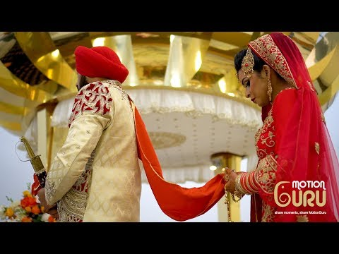 Punjabi Sikh Traditional Wedding | UK | Slough | Highlight | Gurpreet Weds Manpreet