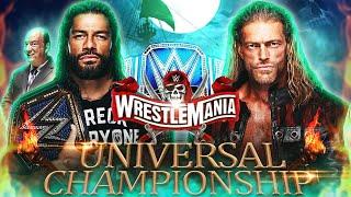 Wwe wrestlemania 37: roman reigns vs ...