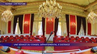 Yvelines | Une séance à distance pour le Conseil départemental des Yvelines