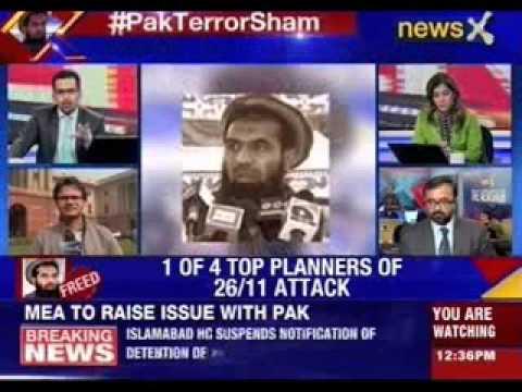 Mumbai Terror Attack planner Lakhvi can walk free in Pakistan now
