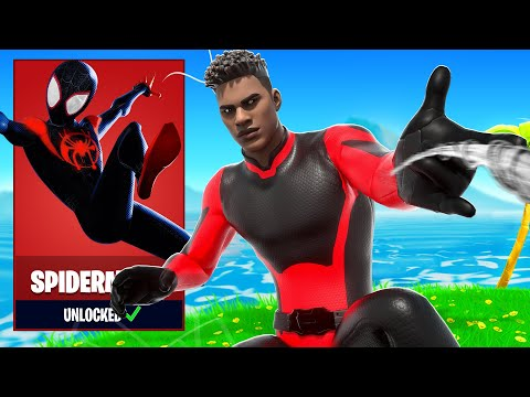 How to UNLOCK CUSTOM Spiderman Super Hero Skins in Fortnite Season 4
