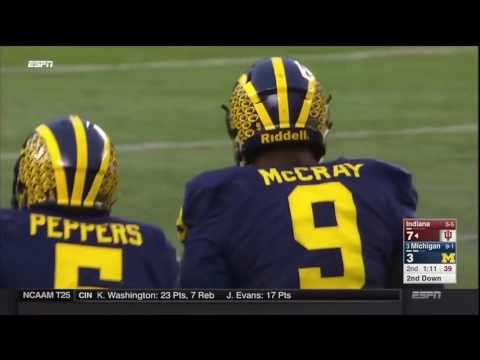 2016 Michigan Football Highlights v. Indiana