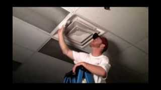 Air Diffuser Installation