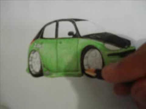 Passos de um desenho de carro - YouTube